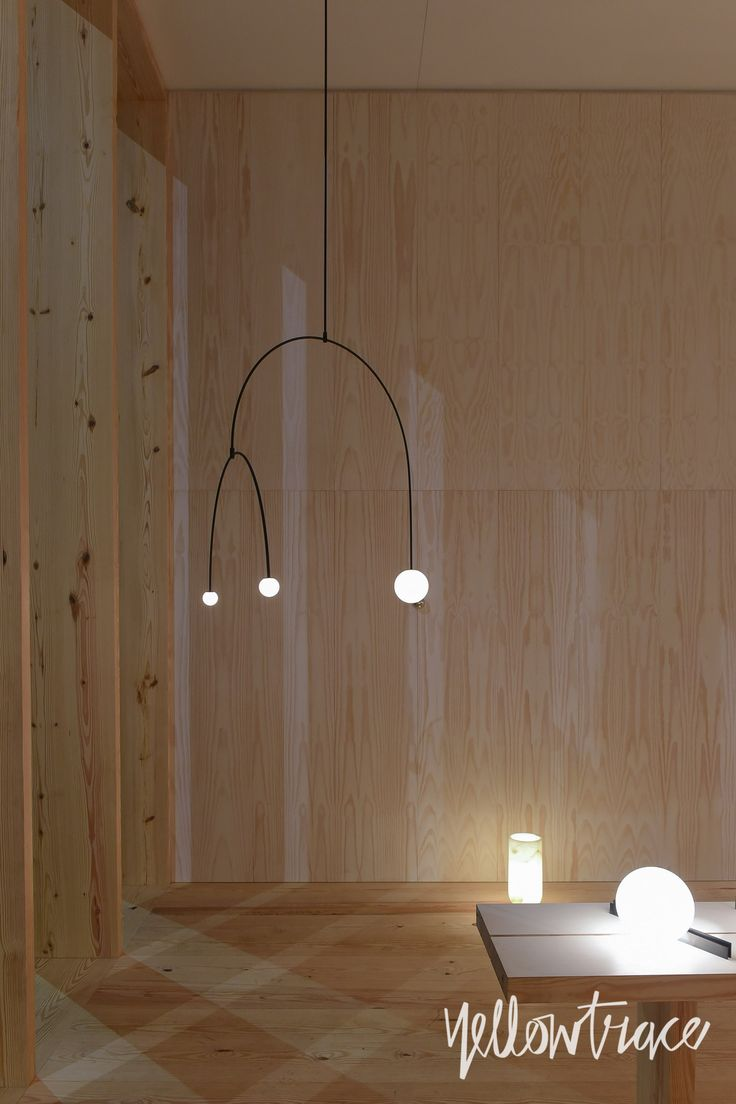Michael Anastassiades at Euroluce 2015, Photo by Nick Hughes for #MILANTRACE2015
