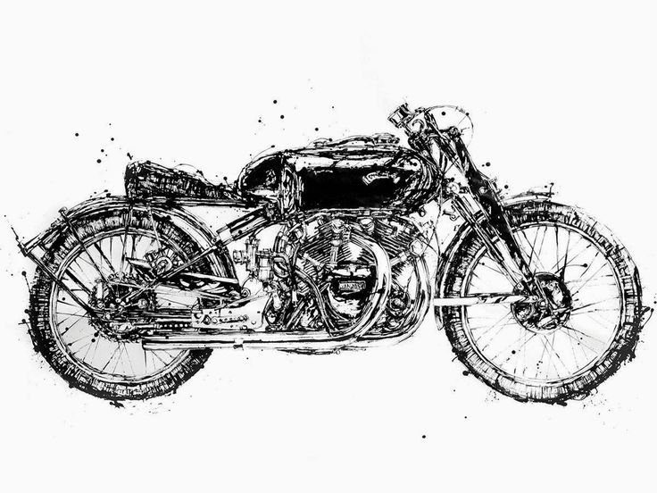 Motorcycle Art - Makoto Endo