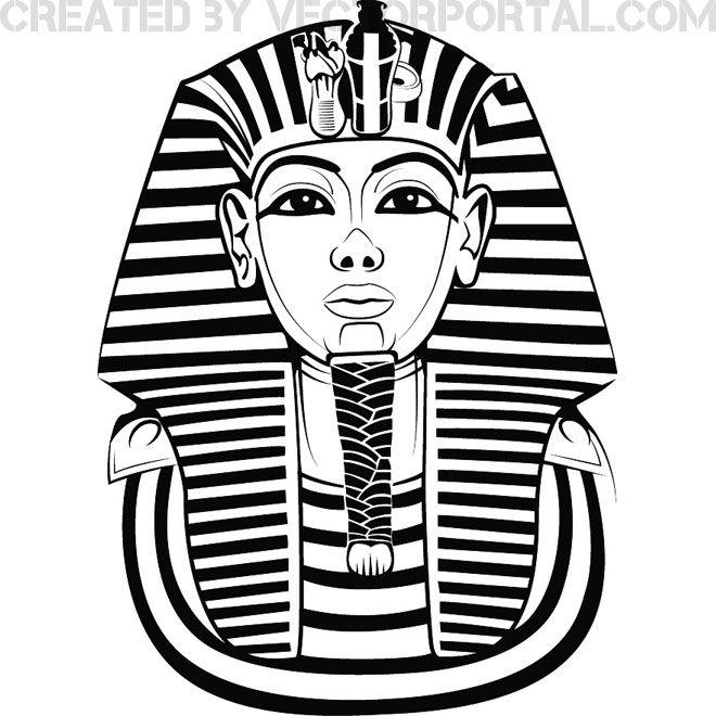 pharaoh head vector - Google Search                                                                                                                                                                                 More