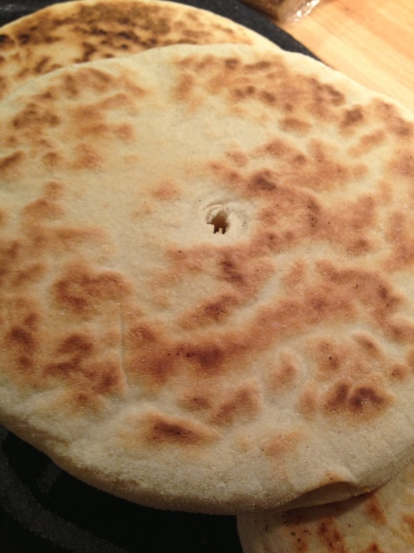 Homemade Morrocan bread