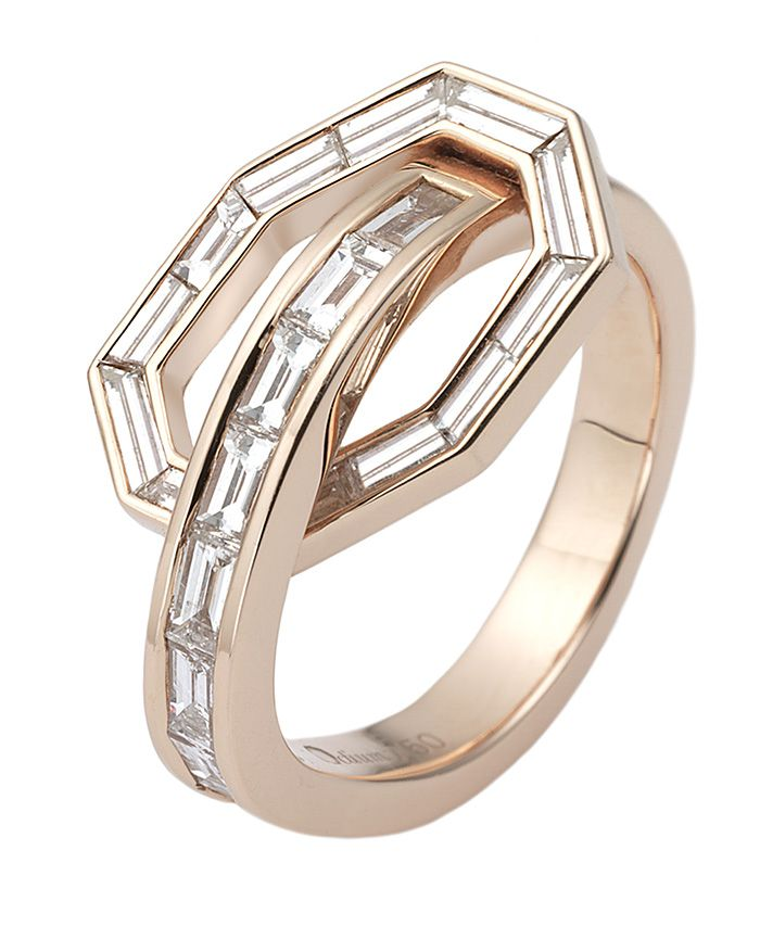 Baguette ring by Octium