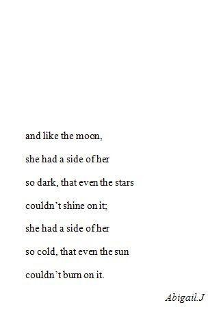 Je suis une nouvelle lune