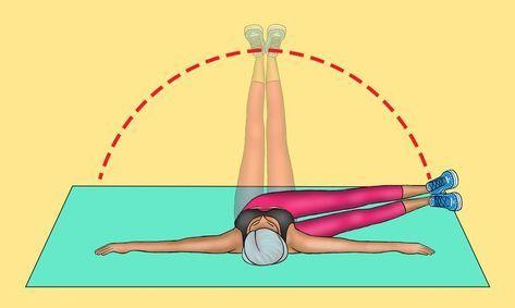 8 wirksame Übungen, die Ihnen innerhalb von 30 Tagen einen flachen Bauch verleihen