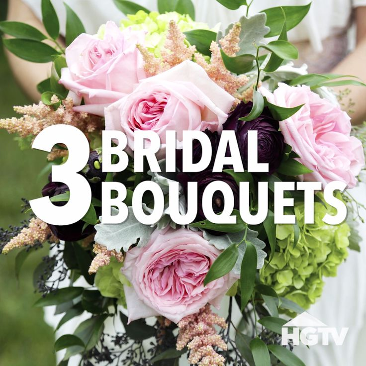 Easy Wedding Flowers: Easy And Cheap DIY Bridal Bouquets [Video]