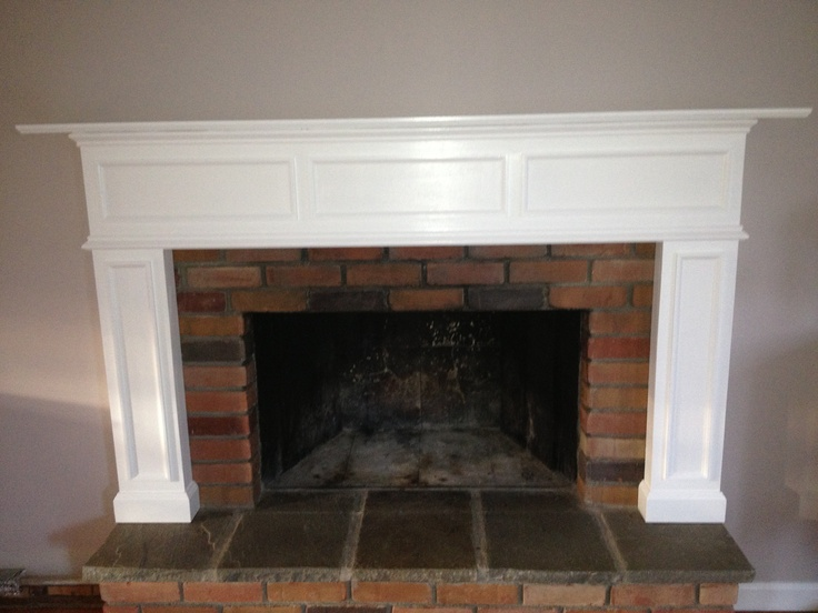 Custom build mantle to client specifications