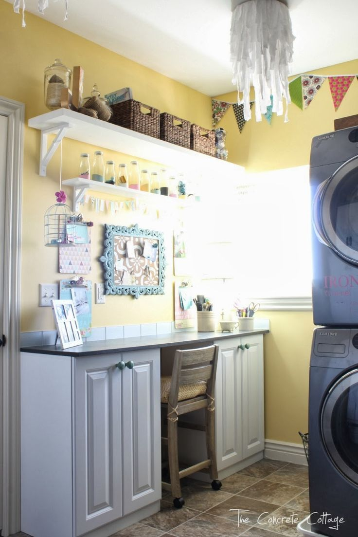 Best 25 laundry craft rooms ideas on pinterest - Craft room ideas for small spaces concept ...