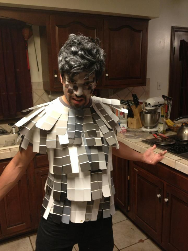 50 Shades of Grey. Best costume ever.