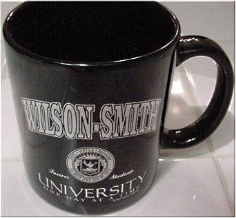 Wilson/Smith University Mug | 12 Step Sobriety Gifts Recovering Alcoholics Anonymous