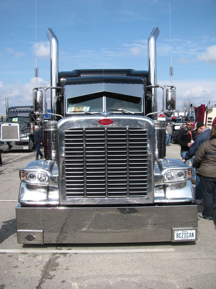 Picture Of Big Rig Headlights : Best images about hot semis on pinterest peterbilt
