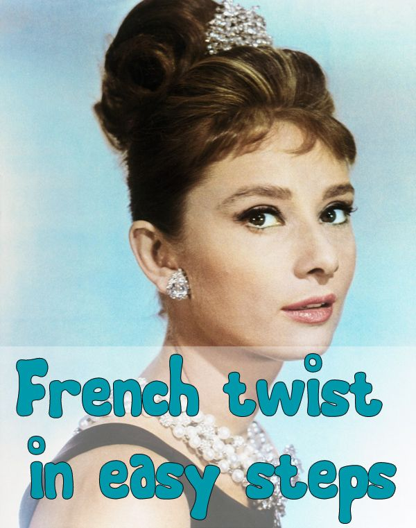 Suggest audrey hepburn french twist hairstyle