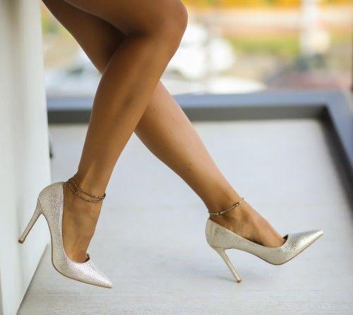 Pantofi Bovo Aurii
