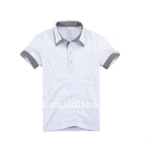 England double collar turn up cuff roll cuff casual short sleeve polo shirt, View double collar turn up cuff roll cuff polo shirt, JBLING Product Details from Shenzhen Gold White-Collar Garments Co., Ltd. on Alibaba.com
