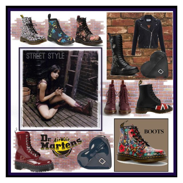 Dr. Martens by whirlypath on Polyvore featuring Dr. Martens and modern
