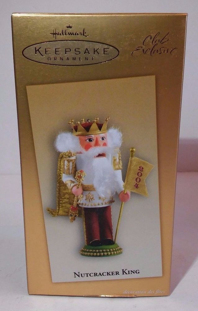 Hallmark Keepsake Ornament Nutcracker King Club Exclusive 2004 NIB