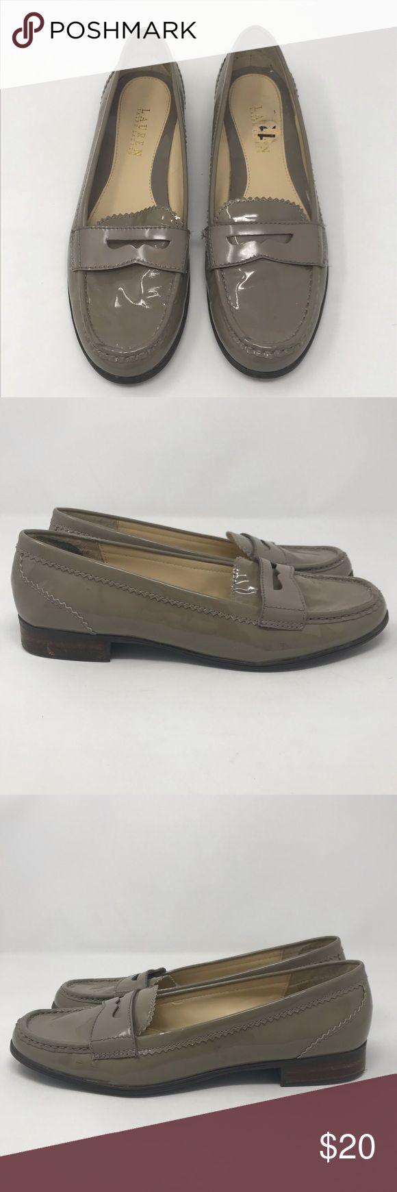 Lauren Ralph Lauren Shoes Womens Size 8 B Brown Leather