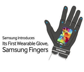 Radical Wearable Smartphone Gloves - Samsung Unveils Its Inventive Wearable Smartphone Gloves (GALLERY)