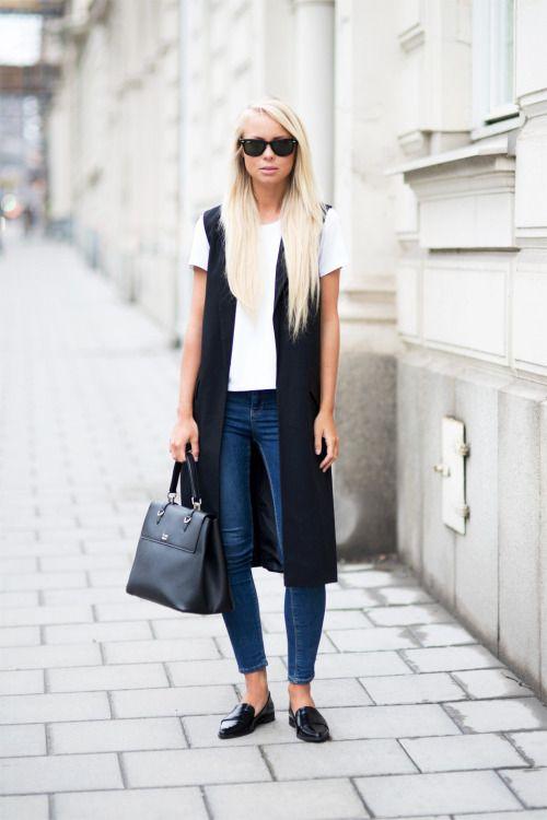 Best 25  Sleeveless coat ideas on Pinterest | Long vest sleeveless ...
