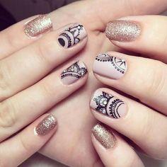 Imágenes de diseños de uñas para el 2017 ❤❤❤ diferentes modelos de uñas, colores, muchos estilos de uñas y accesorios para que veas lo versátiles que son.