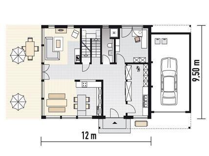 148 best Haus images on Pinterest Bathroom, Bathroom remodeling - küche mit kochinsel grundriss