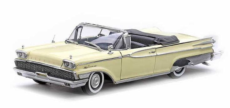 1959 Mercury Parklane Open Convertible Models Motors