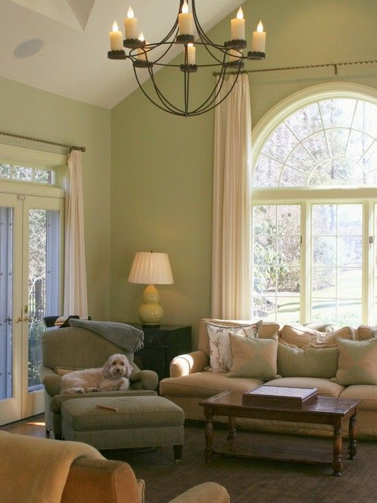 About The Same Color We Used In Guest Room Soft Fern From Benjiman Moore Paints