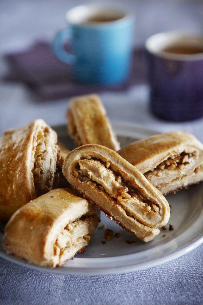 Kaneelbroodjes met walnoot - Boodschappen