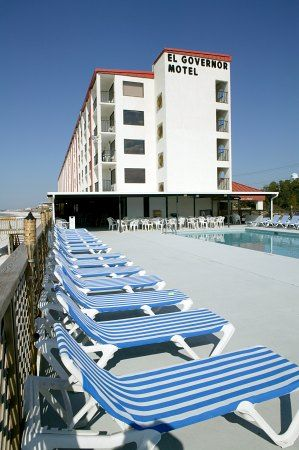 Mexico Beach - El Governor Motel, located right on the sands of Mexico Beach, Florida