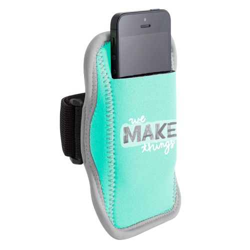 Jog Strap® Neoprene Smartphone/ iPod Holder (1 Color) | Minimum order 50, $6.82 - $4.62 ea.