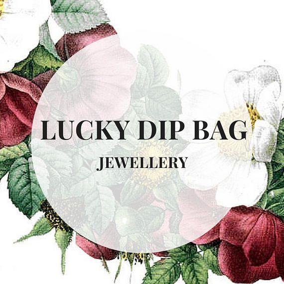 LUCKY DIP BAG  Jewellery including earrings rings charm