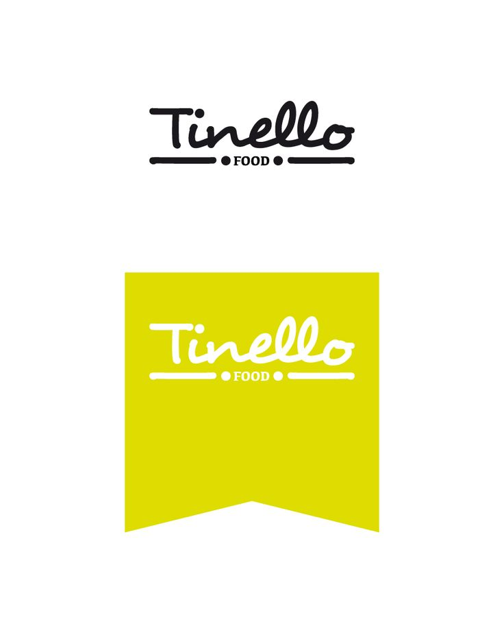Food. Logo Tinello FOOD. Personal project.