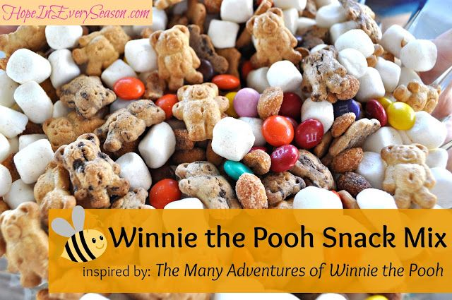 Hope In Every Season: Winnie the Pooh Snack Mix #disneywinnie
