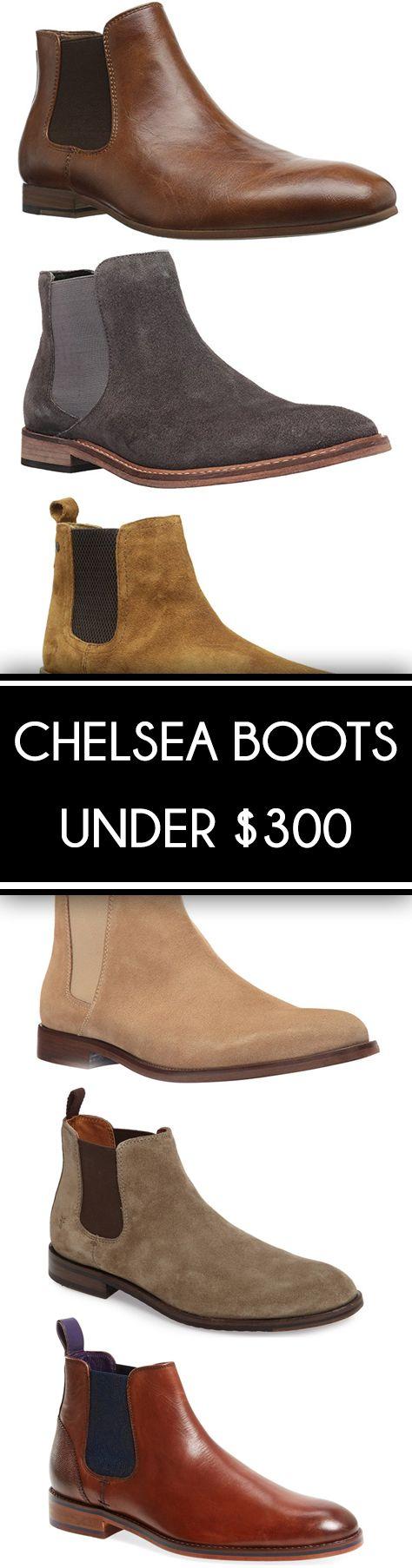 Chelsea Boots for Men Under $300