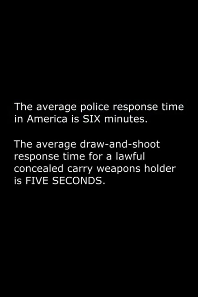 If you take five seconds to pull and aim your concealed carry weapon, you realllllly need to practice more.