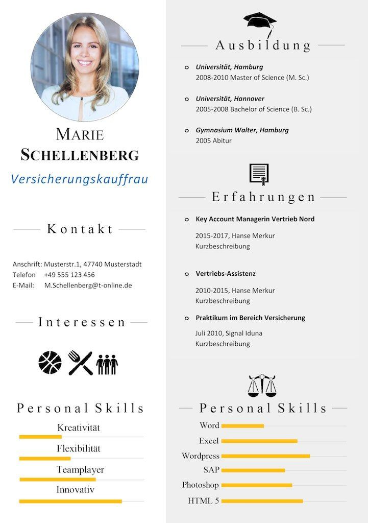 99 best cv bewerbungsfoto lebenslauf images on pinterest