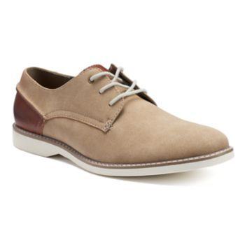 Rockport Charson - Zapatos de cordones de Ante para hombre azul azul/gris 44 1/2 EU Hombre M, color marrón, talla 13 2E UK