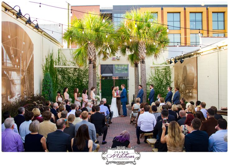 Charleston brewery wedding