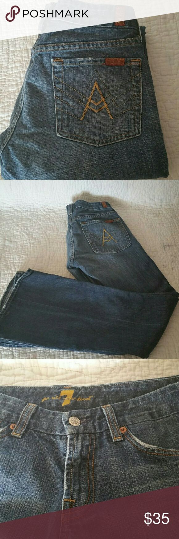 7 For All ManKind Flare Leg Jeans 7 For All ManKind Flare Leg Jeans 7 For All Mankind Jeans Flare & Wide Leg
