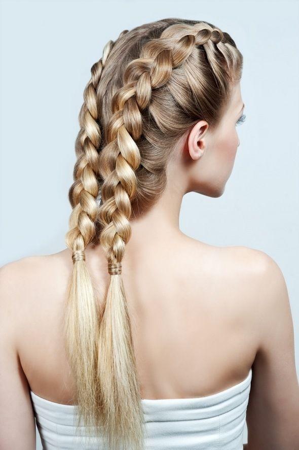 Best 25 aprender hacer trenzas ideas on pinterest como - Como hacer peinados faciles ...