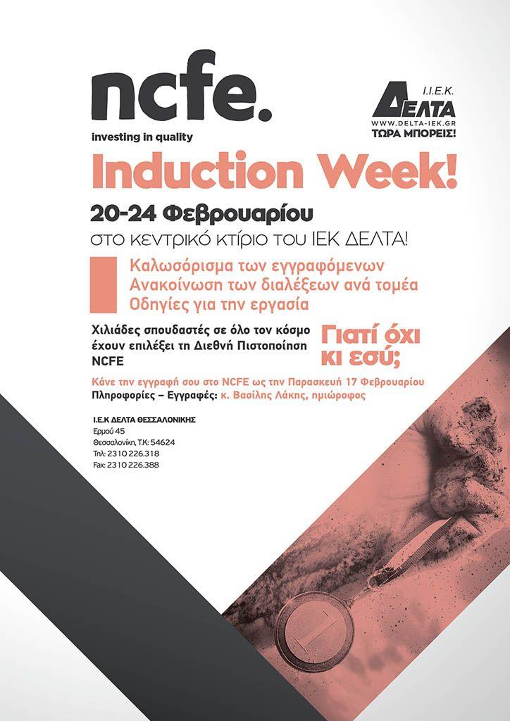 NCFE Induction Week