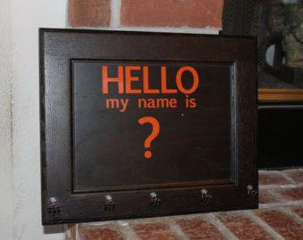 The No Name Board by ShadesofVitality on Etsy