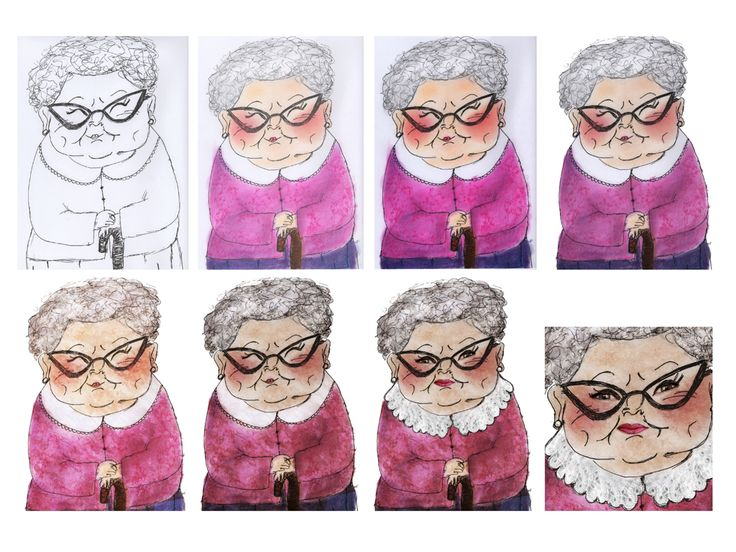 Old Woman Character Development