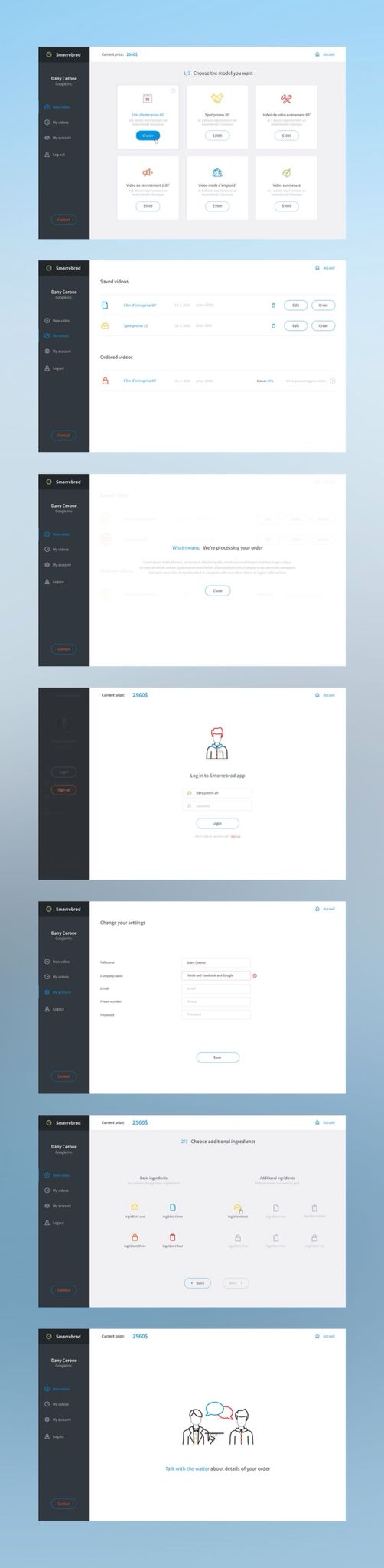 UI and UX Inspiration
