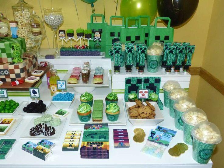 Minecraft Birthday Party Ideas | Photo 1 of 8