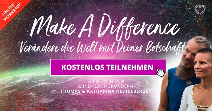 NEU! :) Zum Ausklang des Jahres für Dich:  Möchtest Du 2018 zum Jahr der Umsetzung Deiner Visionen und Träume machen? Lass Dich von Katharina & Thomas inspirieren, wie Du mit Deiner Botschaft einen gigantischen Impact bei Tausenden Menschen hinterlässt.  >>> Klick hier zur kostenlosen Anmeldung: http://www.life-coach-blog.de/Mindheart-Jahrestraining