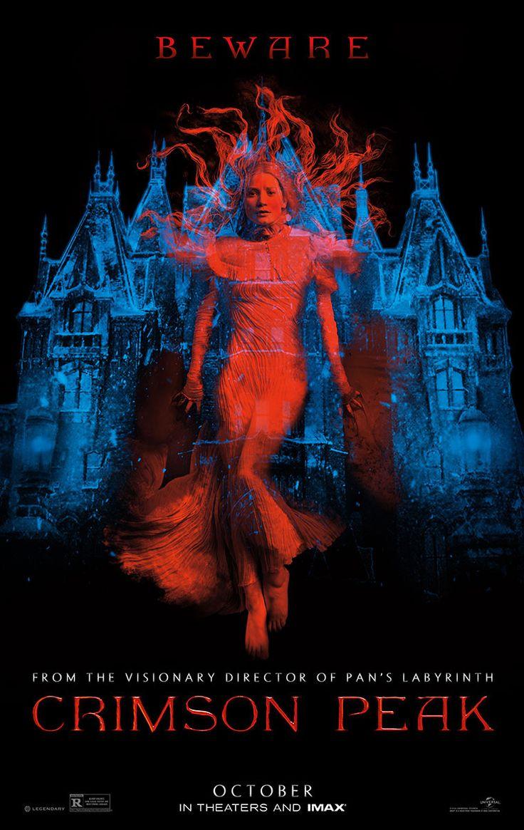 Crimson Peak réalisé par Guillermo del Toro.