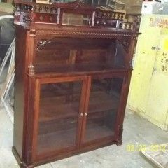 The BIRTH of a bookcase — from the ashes of an old PUMP organ into a bookcase