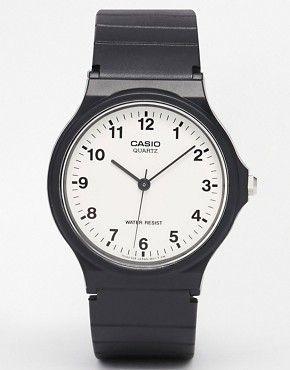 Casio - MQ-24-7BLL - Montre analogique avec bracelet en résine
