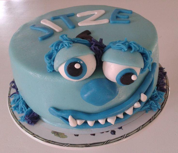 Monster Inc. cake Sully http://www-taart-van-miranda.webklik.nl