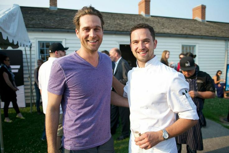 Chef Spotting Chef Cory Vitiello of The Harbord Room and Chef Carl Heinreich of Richmond Station at Taste of Toronto 2014! #TasteofToronto #Toronto #Food #Foodie