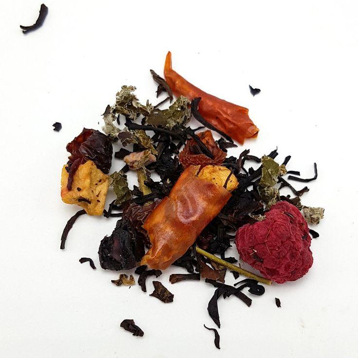 Raspberry Cherry Chipotle Salsa Keemun Tea (Limited Edition)